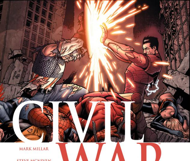 Cover: Civil War (2006) #7