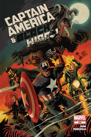 Captain America and Bucky #640