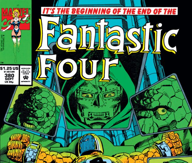 Fantastic Four (1961) #380 Cover