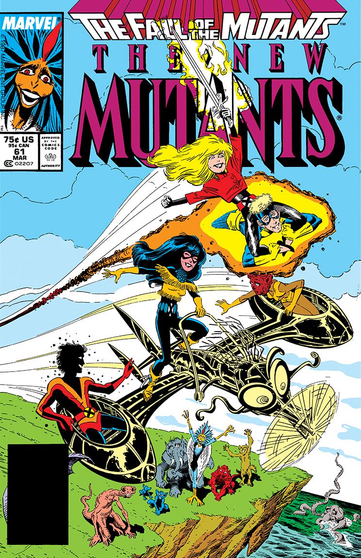 New Mutants (1983) #61