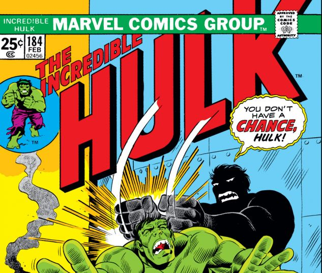 Incredible Hulk (1962) #184 Cover