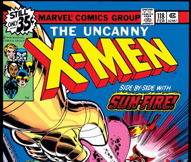 Uncanny X-Men (1963) #118 Cover