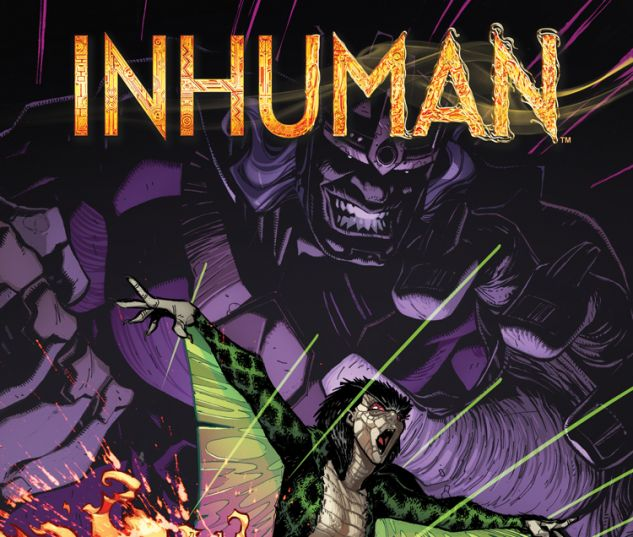 INHUMAN 6 (WITH DIGITAL CODE)
