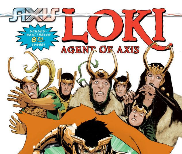 LOKI: AGENT OF ASGARD 8 (AX, WITH DIGITAL CODE)