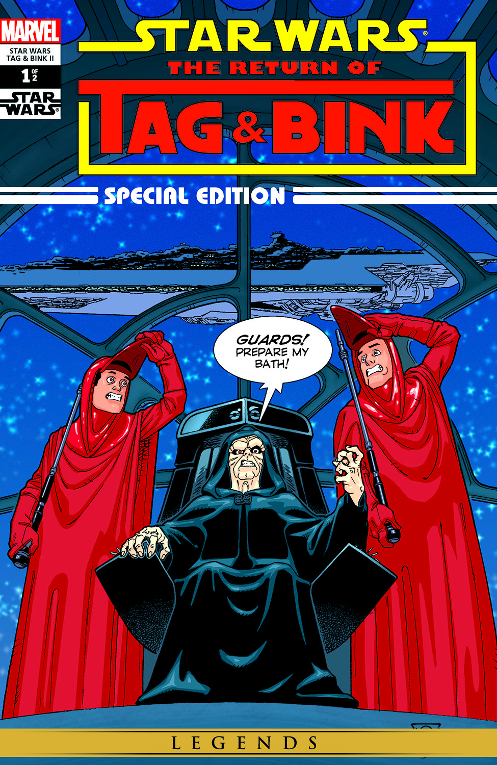 Star Wars: Tag & Bink II (2006) #1