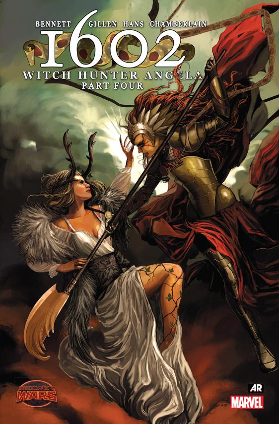 1602 Witch Hunter Angela (2015) #4