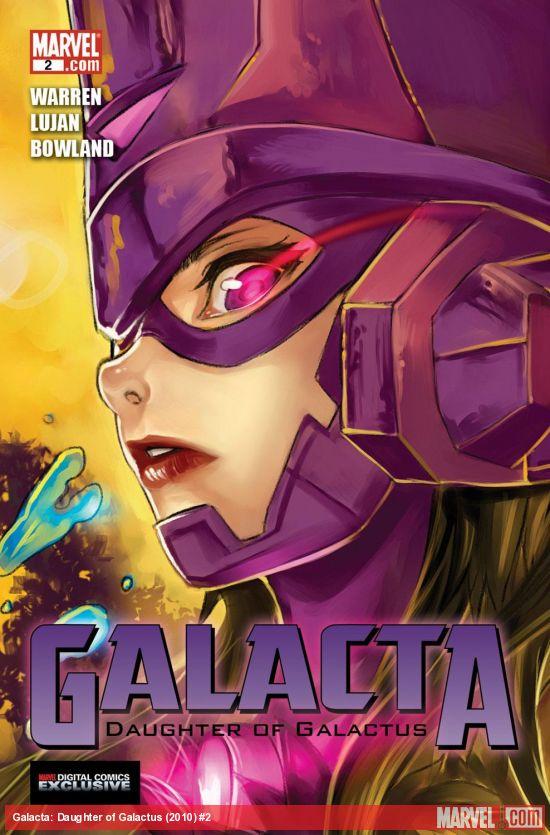 Galacta: Daughter of Galactus (2010) #2