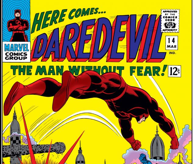 DAREDEVIL (1964) #14 Cover