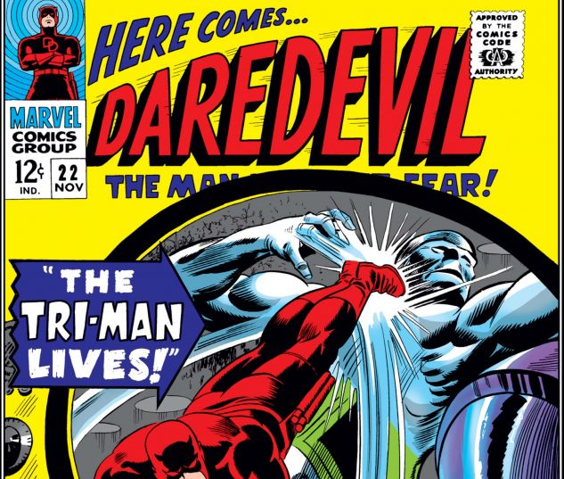 DAREDEVIL (1964) #22 Cover