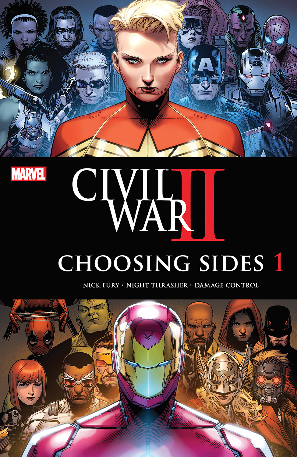 Civil War II: Choosing Sides (2016) #1