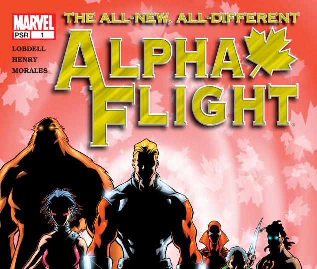 Alpha Flight (2004) #1