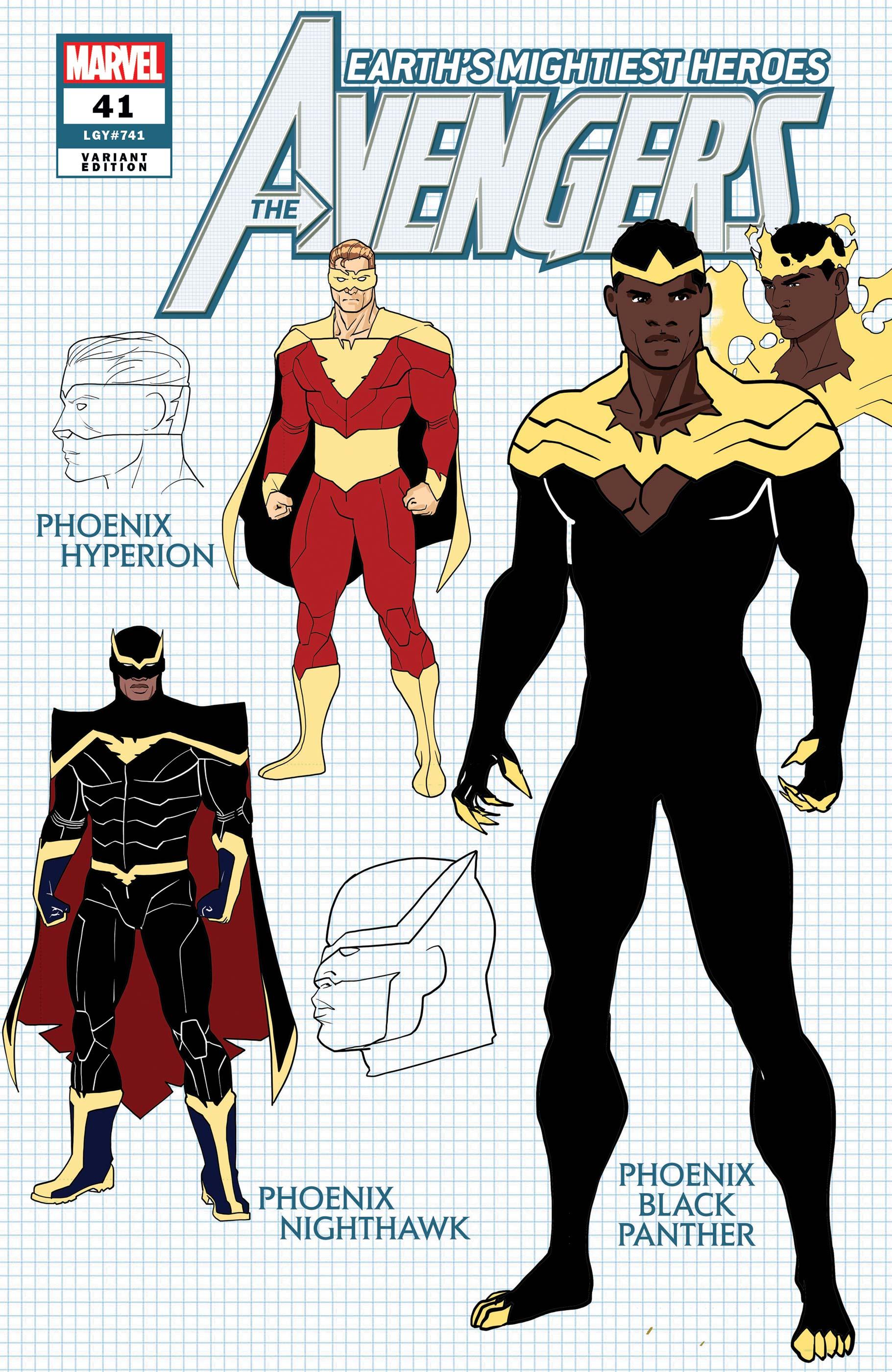 Avengers (2018) #41 (Variant)