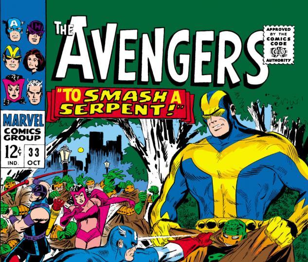 Avengers (1963) #33 cover