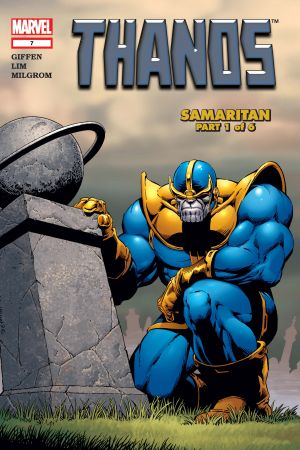 THANOS VOL. 5: SAMARITAN TPB (Trade Paperback)