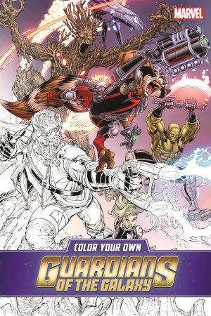 Color Your Own Guardians of the Galaxy (Trade Paperback)