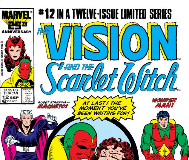 VISION AND THE SCARLET WITCH (1985) #12