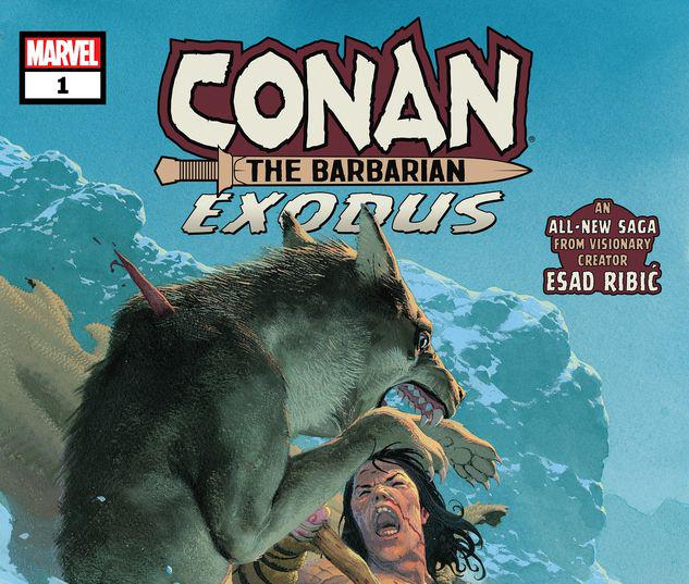 CONAN THE BARBARIAN: EXODUS 1 #1