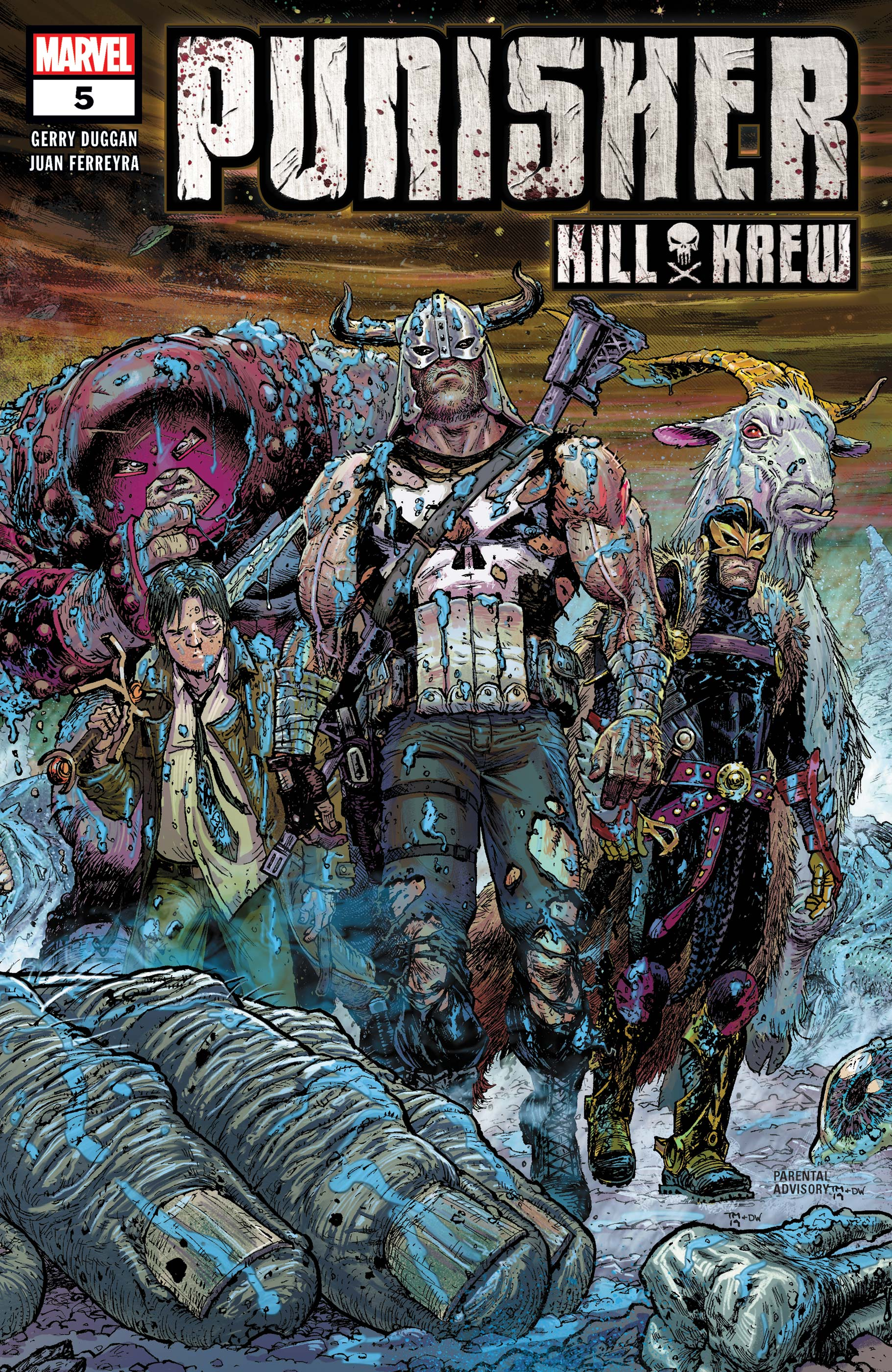 Punisher Kill Krew (2019) #5