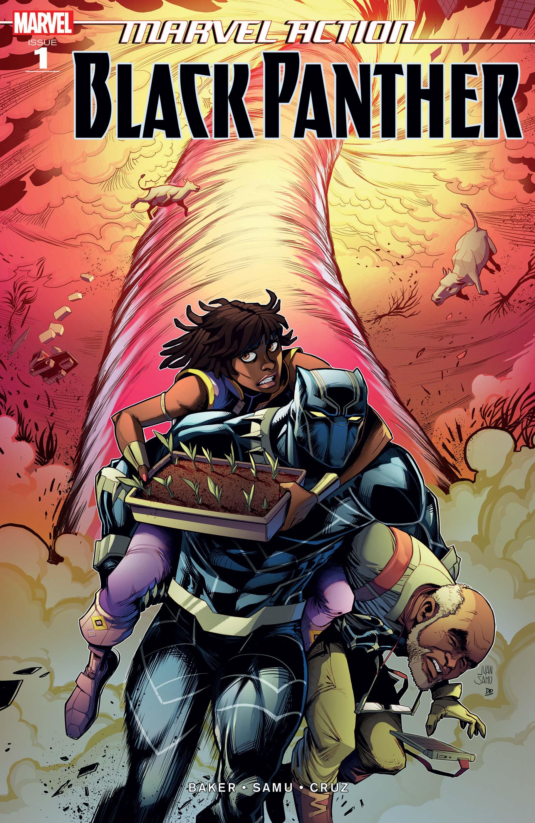 Marvel Action Black Panther (2019) #1