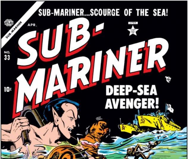 SUB-MARINER COMICS #33