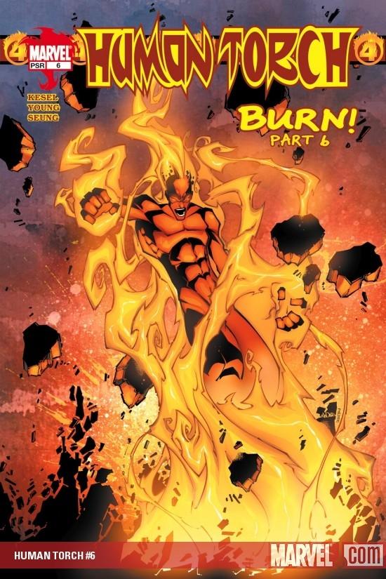 Human Torch (2003) #6