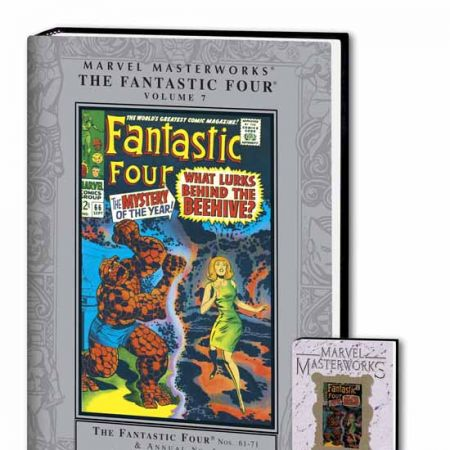 MARVEL MASTERWORKS: THE FANTASTIC FOUR VOL. 7 COVER