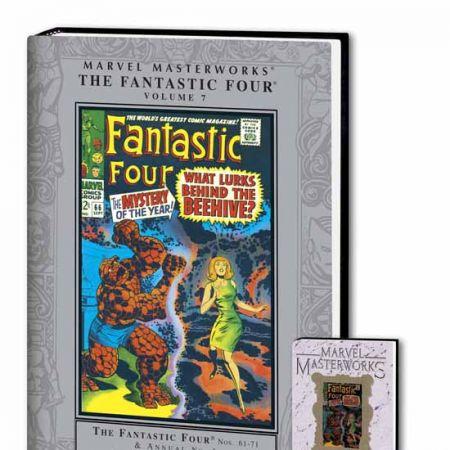 MARVEL MASTERWORKS: THE FANTASTIC FOUR VOL. 7 COVER