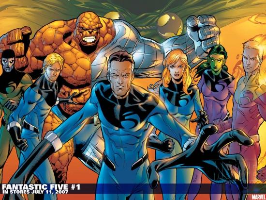Fantastic Five (1999) #1 Wallpaper