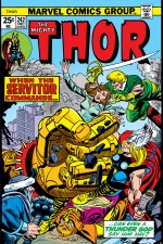 Thor (1966) #242 cover
