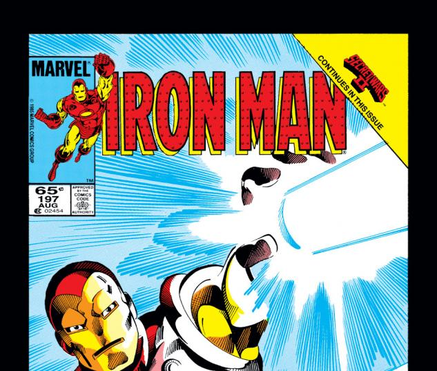 Iron Man (1968) #197 Cover