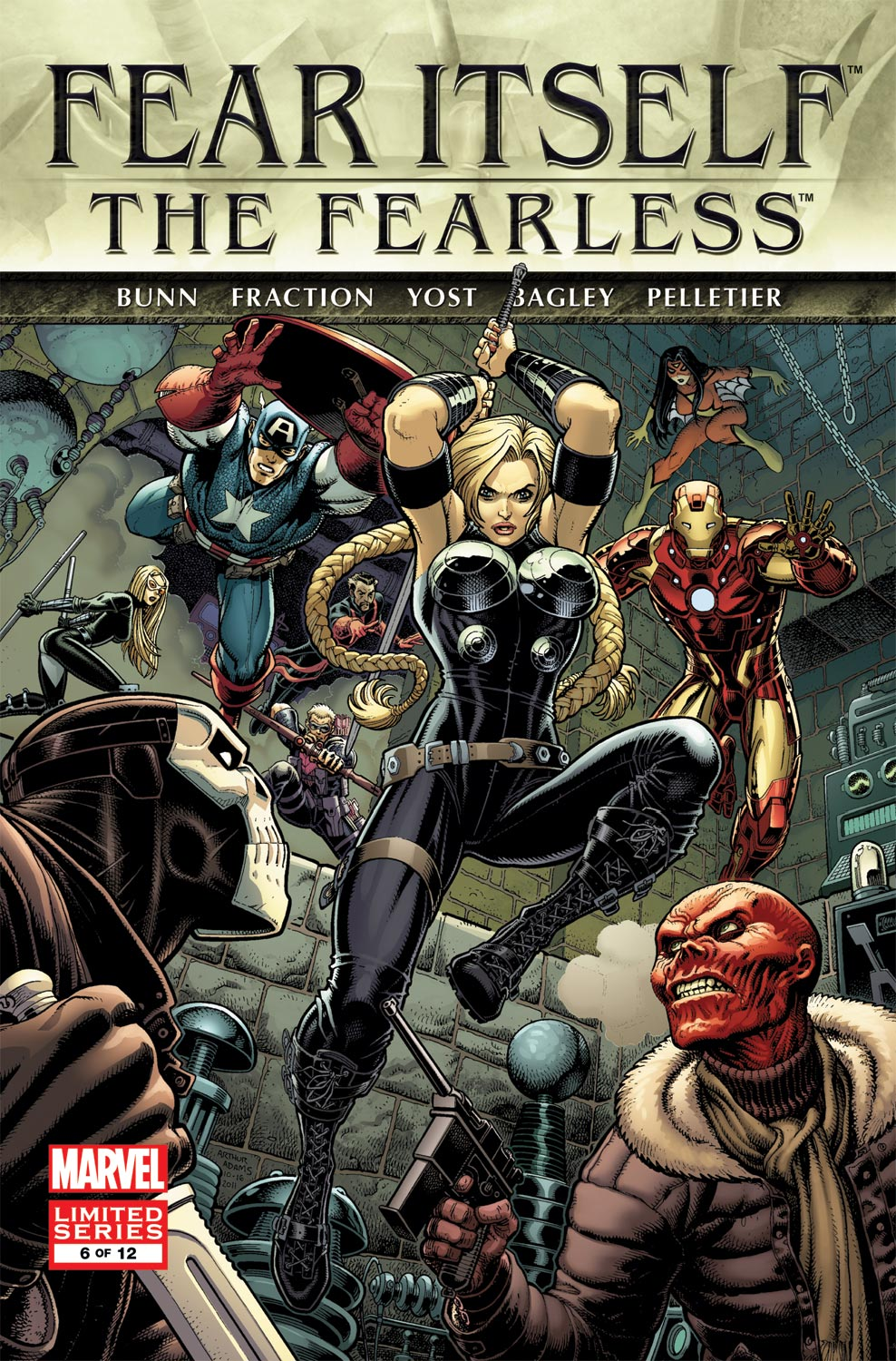 Fear Itself: The Fearless (2011) #6