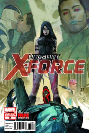 Uncanny X-Force (2010) #35 (Maleev Final Variant)
