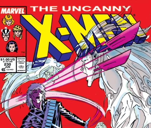 Uncanny X-Men (1963) #230 Cover
