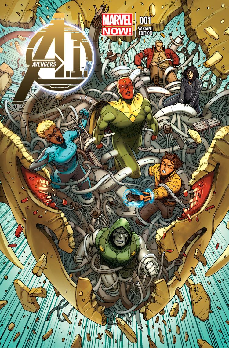 Avengers A.I. (2013) #1 (Araujo Variant)