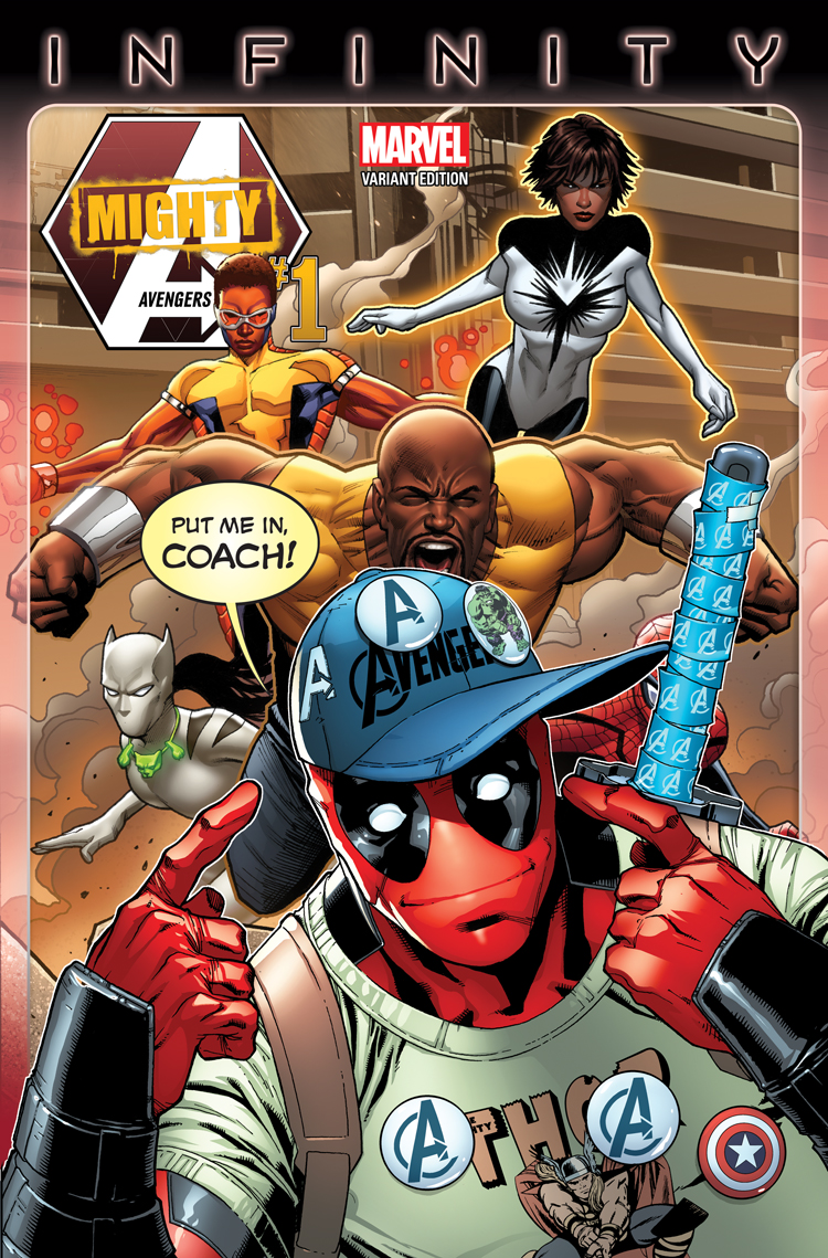 Mighty Avengers (2013) #1 (Barberi Party Variant)