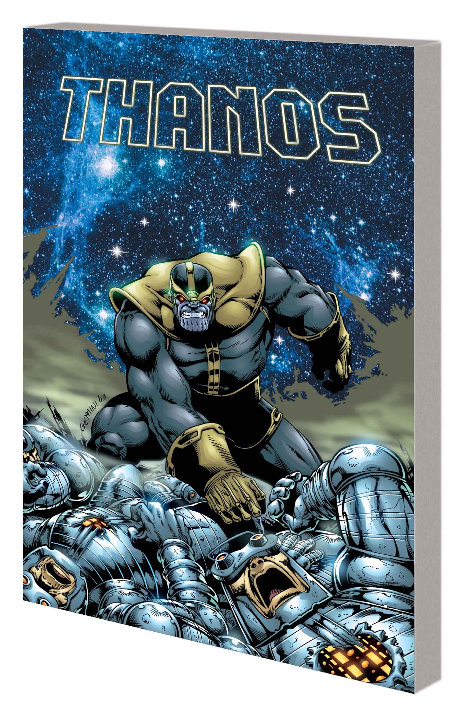 Thanos: Redemption (Trade Paperback)