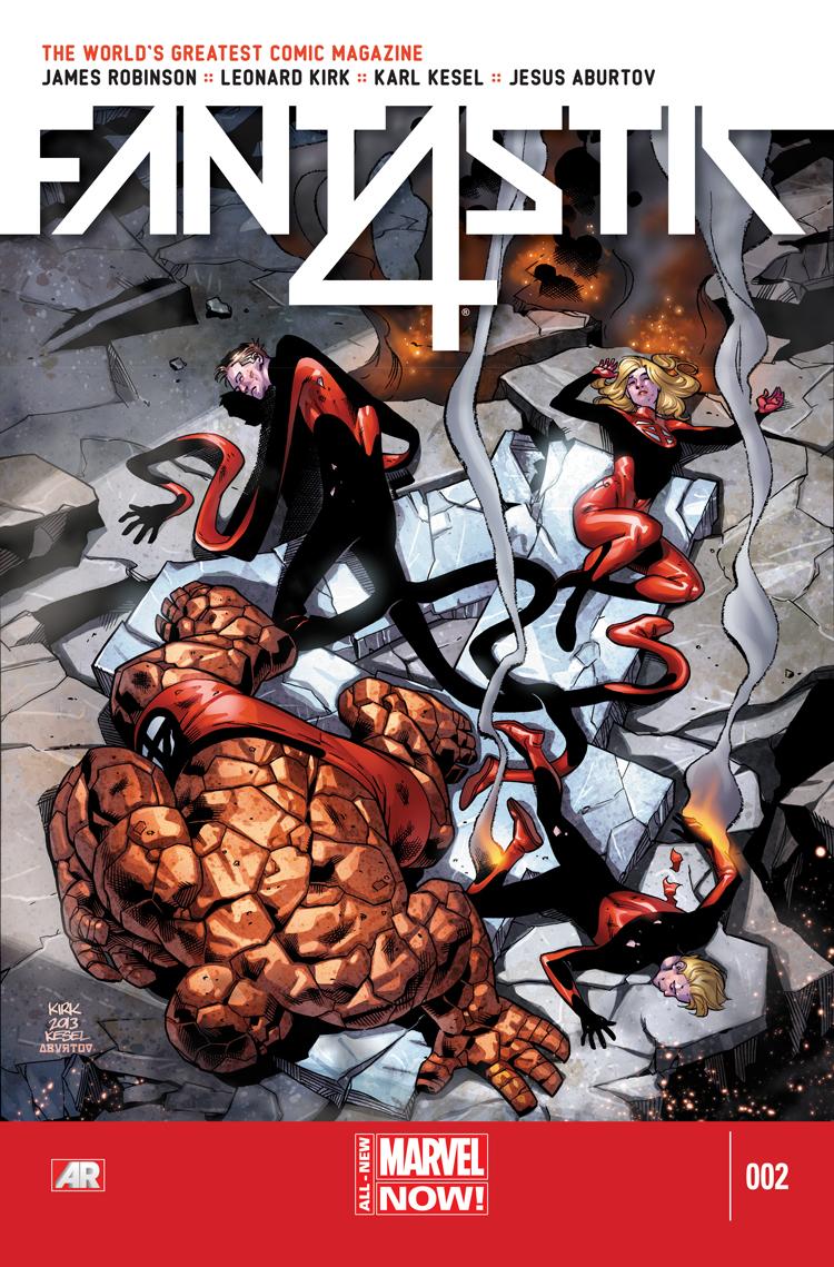 Fantastic Four (2014) #2