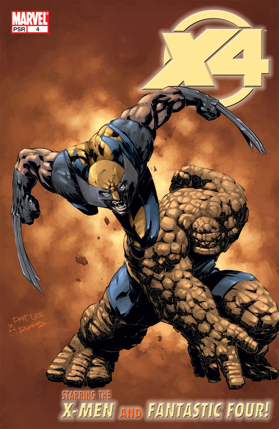 X-Men/Fantastic Four (2004) #4