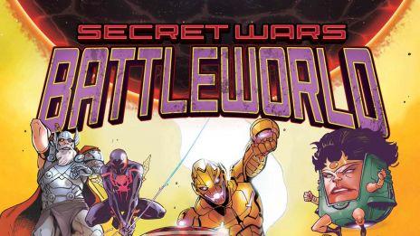Secret Wars: Battleworld (2015) #1