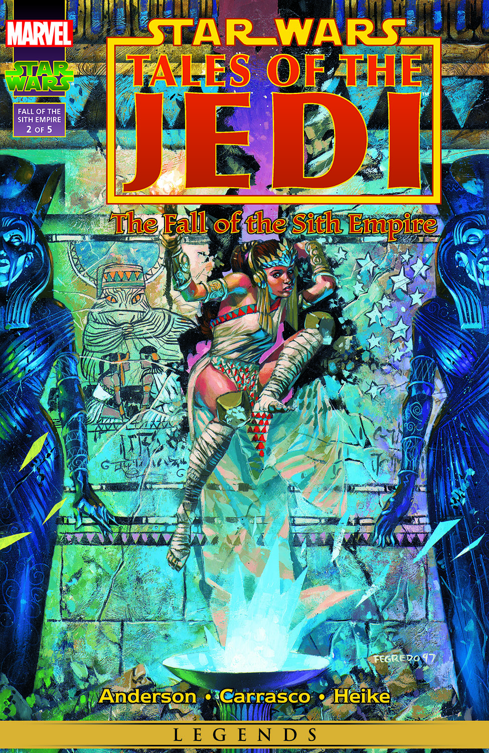 Star Wars: Tales of the Jedi - The Fall of the Sith Empire (1997) #2