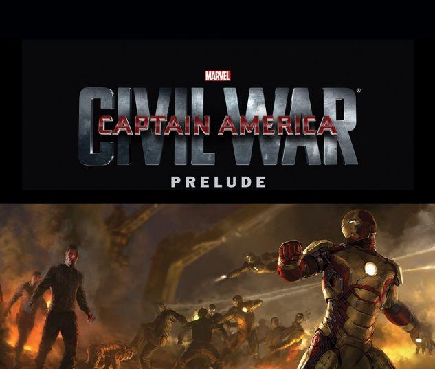 cover from Marvel's Captain America: Civil War Prelude (2015) #2