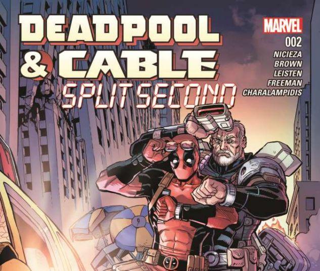 Deadpool & Cable: Split Second (2015) #2