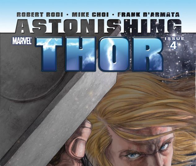 ASTONISHING THOR (2010) #4 Cover