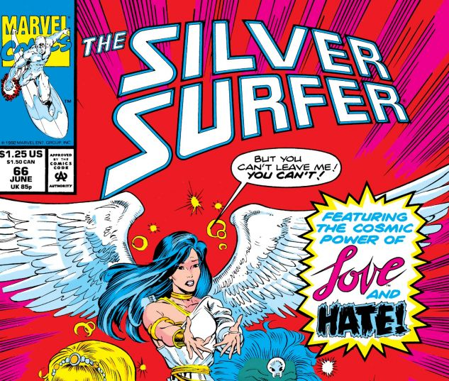 SILVER SURFER (1987) #66