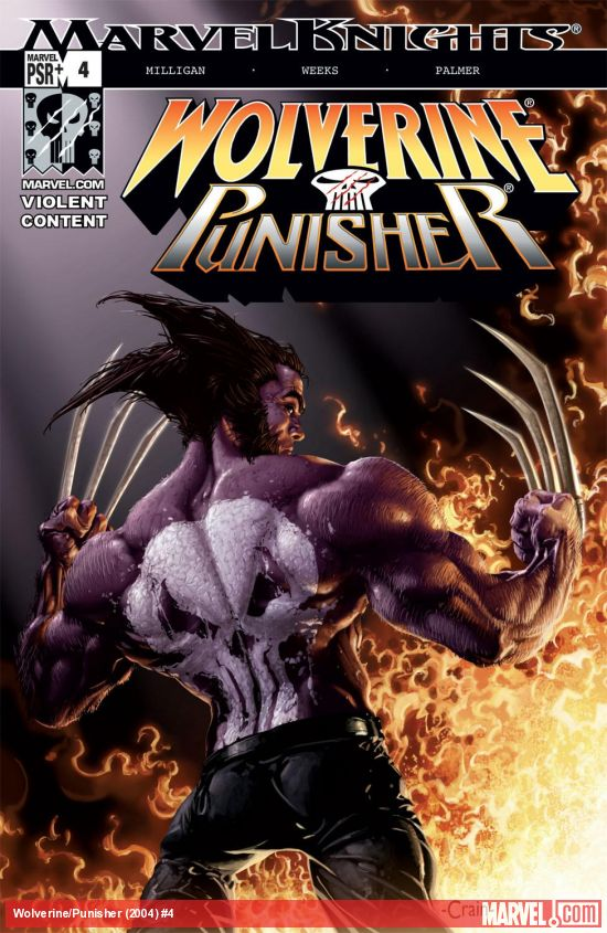 Wolverine/Punisher (2004) #4
