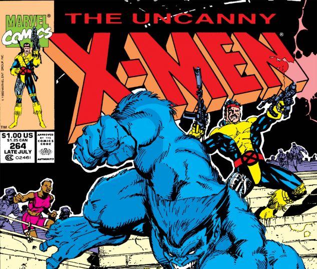 UNCANNY X-MEN (1963) #264
