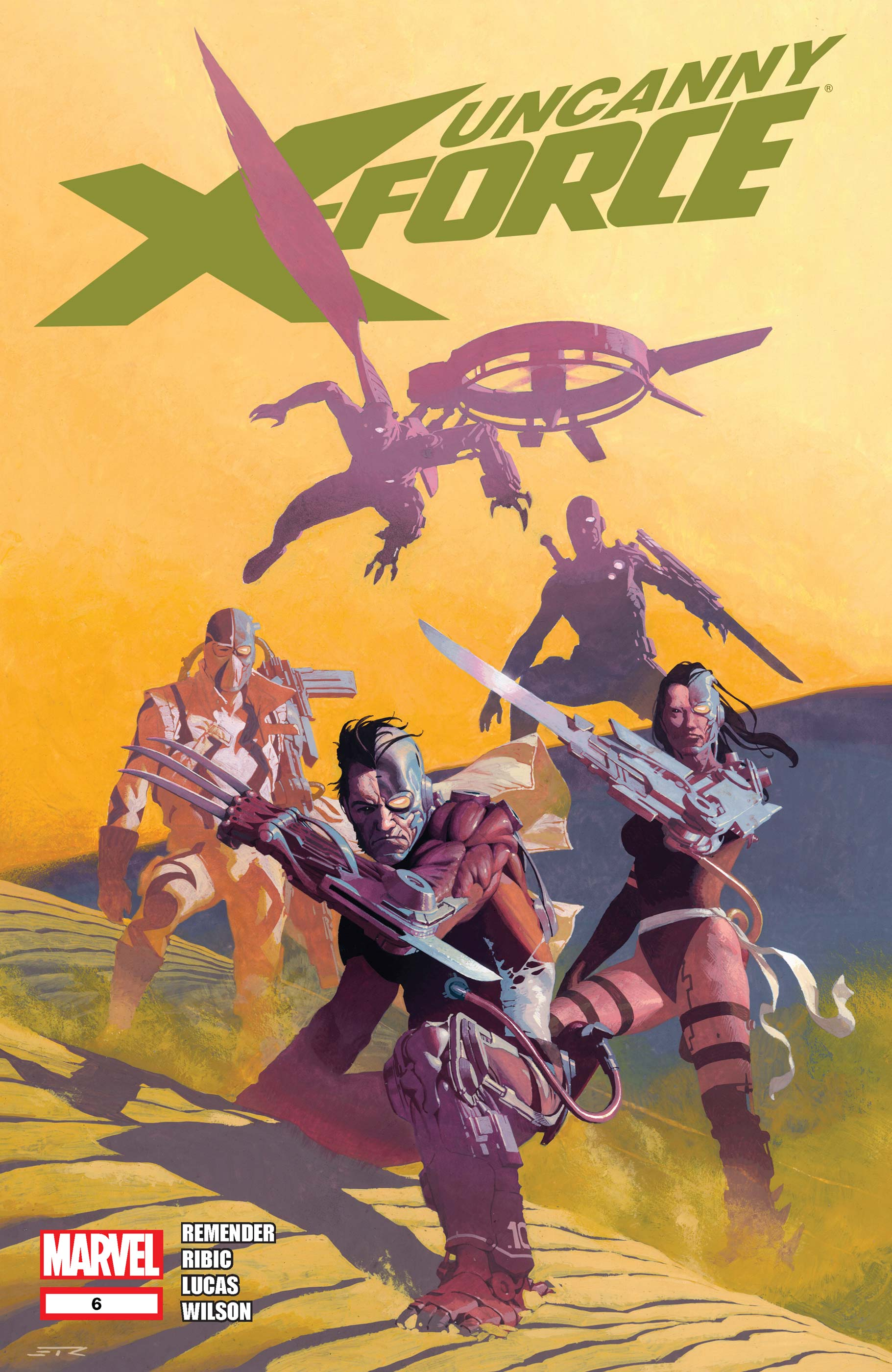 Uncanny X-Force (2010) #6