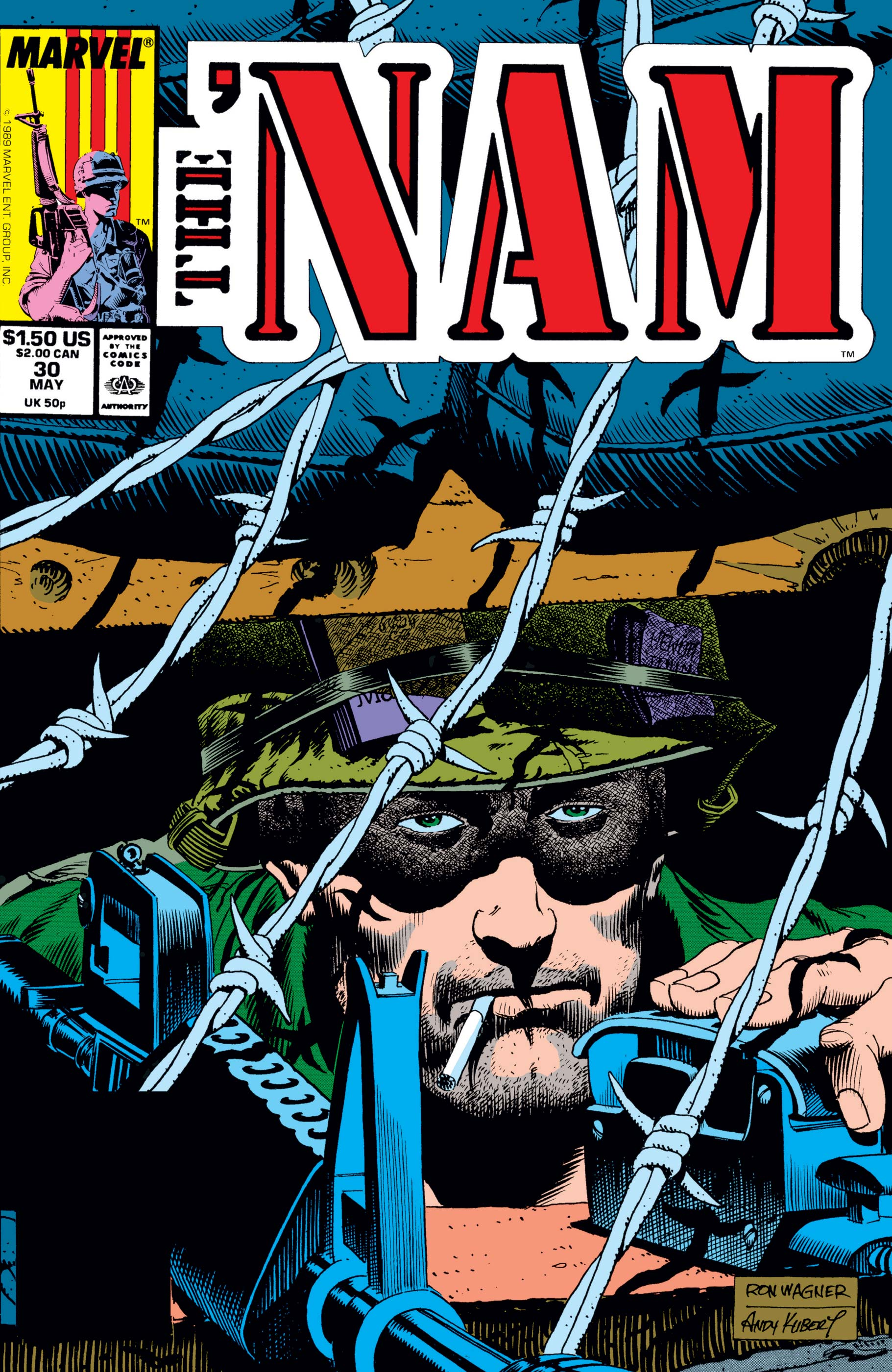 The 'Nam (1986) #30