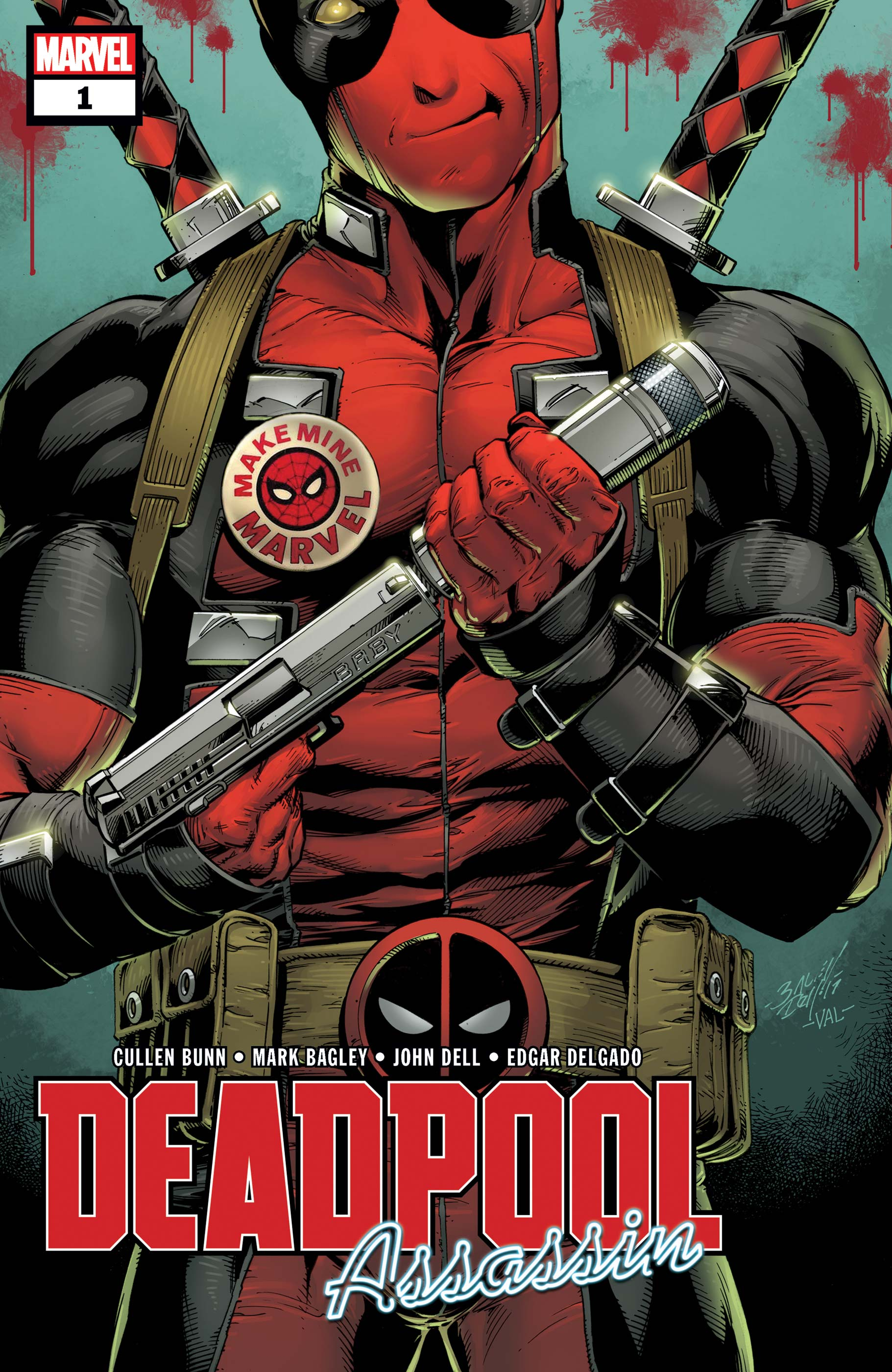 Deadpool: Assassin (2018) #1