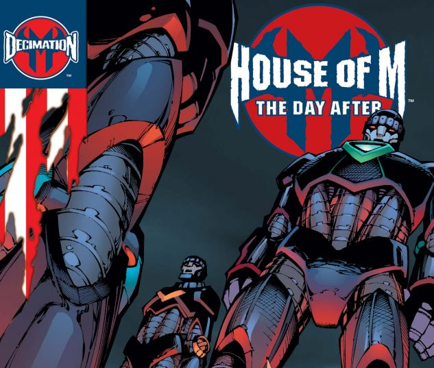 DECIMATION: HOUSE OF M - THE DAY AFTER (2005) #1